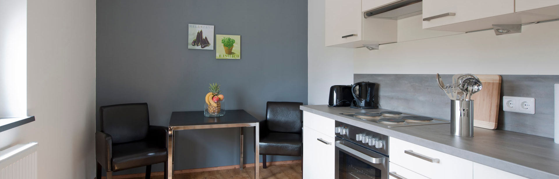 completely furnished appartment with kitchen in the center of Bremen