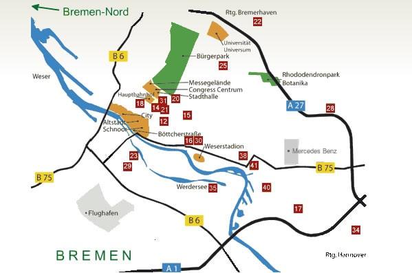 Bremen Hotels Und Pensionen